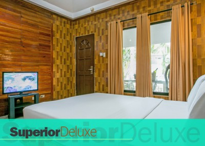 ROOM ACCOMMODATION – SUPERIOR DELUXE