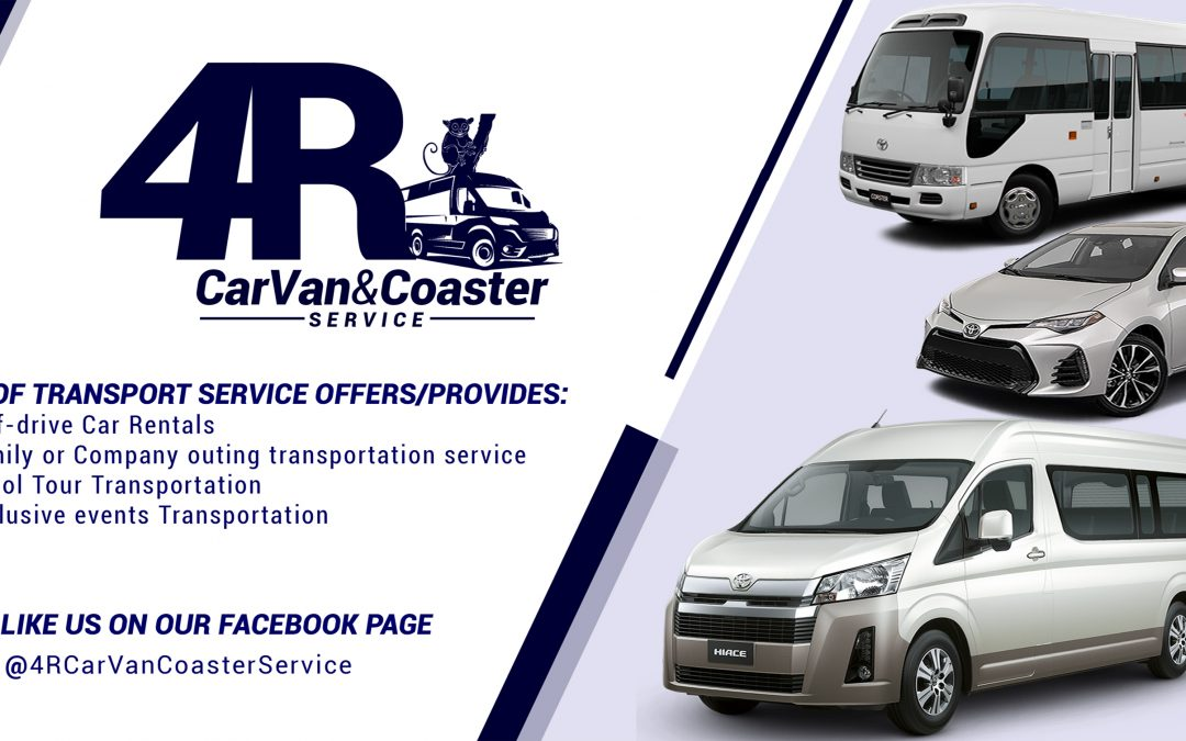 Marilou Resort ties with 4R CarVan and Coaster Service